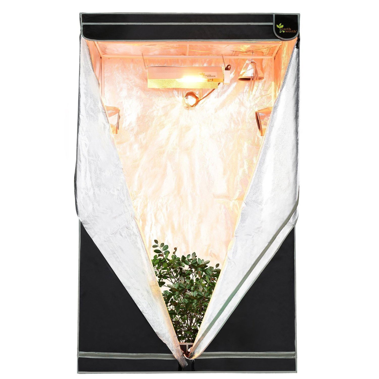 Earth Worth 48u2033X48u2033X78u2033 Hydro Shanty Grow Tent Review  sc 1 st  ModernHydroponics.com & Virtual Sun VS4800-48 Indoor Grow Tent Review | ModernHydroponics.com
